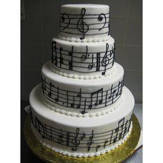 music cake | Tumblr ❤ liked on Polyvore