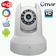 Find More CCTV Cameras Information about 2014 newest home wifi ip camera support smart phone 720P HD two way audio night vision ip camera SC 6100H,High Quality CCTV Cameras from Sysvideo on Aliexpress.com