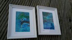 Kleine feine Kunst Unter Wasser Set 3 zwei von abstractartmoewchen