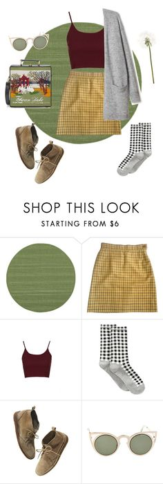 """Comfortable & cute"" by annika-victoria ❤ liked on Polyvore featuring Oriental Weavers, Vivienne Westwood, Topshop, HOT SOX, Madewell, Betsey Johnson and Olympia Le-Tan"
