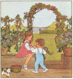 Rie Cramer Het jaar rond editie 1978 ill kersen | Flickr - Photo Sharing!