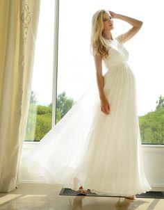 Die 7 Besten Bilder Von Schwangerschafts Brautmode