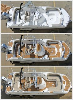 Check out the before and after pictures of the custom SeaDek project we did for Honda Marine!