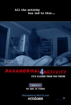 Paranormal Activity 4 - Rotten Tomatoes  My least favorite movie so far this year besides one other that I walked out on and can't remember the name of.