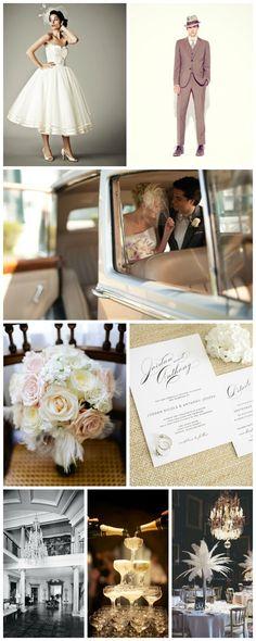 1940s wedding inspiration