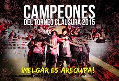 MELGAR CAMPEÓN!! ahora vamos el titulo nacional #MELGAR100