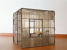 Louise Bourgeois, Cell, c 1995 Louise Bourgeois, Contemporary Art, Modern Art, Contemporary Sculpture, Art Icon, Installation Art, Art Installations, Land Art, Glass Design