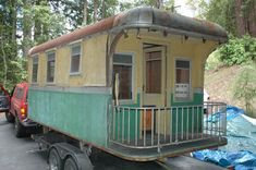 1927 prototype holt Just love the back! It's a caboose/rominy wagon/trailer all in one. Trailers Camping, Vintage Campers Trailers, Retro Campers, Vintage Caravans, Camping Glamping, Camper Trailers, Oregon Camping, Flatbed Trailer, Camping Checklist