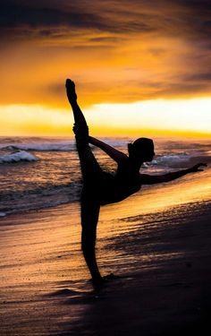 Beach ballet Photography Dance Sunset