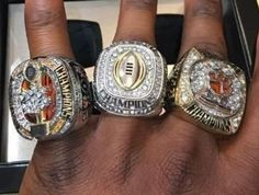 Clemson shows off championship rings | theScore.com