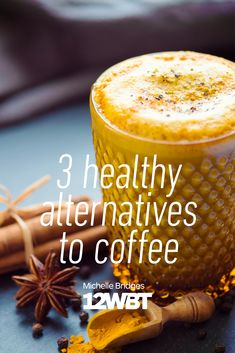 Whether you're a coffee addict, an occasional drinker, or someone not fussed by all the hype, there will be times when you're looking for a pick-me-up alternative to coffee! Check out 3 of our favourite options. Diet Recipes, Cooking Recipes, Healthy Recipes, Healthy Foods, Yummy Recipes, Coconut Milk Smoothie, Coffee Shot, Turmeric Smoothie, Food Dishes