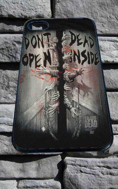 Zombies Want BRAINS! (Black) - The Walking Dead - Funda Para