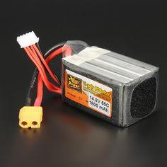 ZOP Power 14.8V 1800mAh 65C 4S Lipo Battery XT60 Plug
