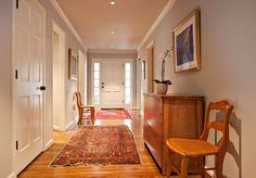 Paint: Gray walls: Benjamin Moore, Aura, color: Rodeo; cabinets and trim are Benjamin Moore as well, color: China White.