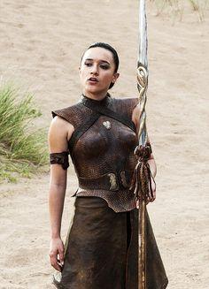 Keisha Castle-Hughes in 'Game of Thrones' (2011). x