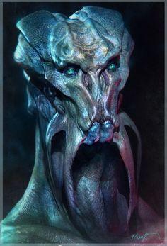 Alien , Sebastian Meyer on ArtStation at https://www.artstation.com/artwork/alien-746af6a4-043c-40b9-8921-468f1a579c81