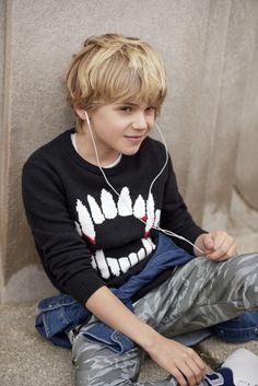 【Kids Boy】 セーター/ID:232452 ロングスリーブTシャツ/ID:232466 デニムシャツ/ID:164451 ※一部店舗取扱いなし…