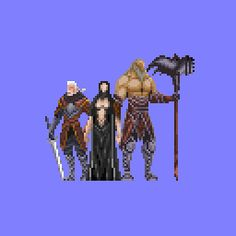 Lords of shadow in pixel