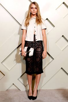 Celebrity Style - Cara Delevigne - monstylepin #fashion #celebrity #style #celebrityfashion #caradelevigne #icon #lace #trend