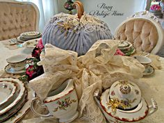 Penny's Vintage Home: Fall Tablescape