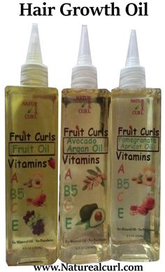 Fruit Infused Hair Growth Oil Avocado Argan Oil , Pomegranate Apricot Oil.