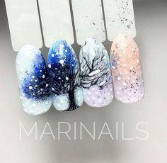 Choose from an Amazing Array of Nail Art Design Xmas Nails, Cute Nail Art, Christmas Nail Art, Beautiful Nail Art, Holiday Nails, Chic Nails, Love Nails, Pretty Nails, French Fade Nails