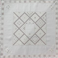 Lefkara embroidery ~ by Joke Bosman Needlework, Quilts, Embroidery, Blanket, Cyprus, Website, Embroidered Towels, Hand Embroidery Designs, Embroidery Stitches