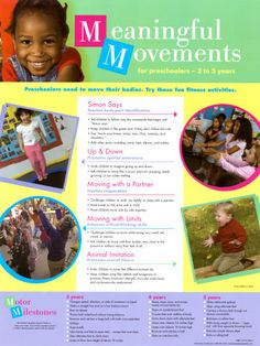 What is Movement Exploration? - Learning About Preschool Fitness Activities