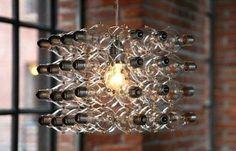 Light bulb chandalier