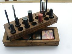 wooden make up organizer - Google Search