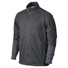 Nike Hyperadapt Storm-FIT Full-Zip Men's Golf Jacket Size Large (Grey) - Clearance Sale