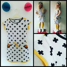 Candy dress afgewerkt Sewing Kids Clothes, Sewing For Kids, Diy Clothes, Baby Girl Fashion, Kids Fashion, Sewing Paterns, Candy Dress, Baby Kind, Diy Dress