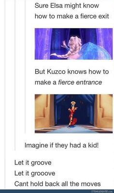 Lol! I love both of these movies and this post just made them even more fabulous.