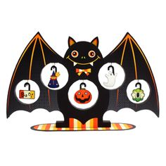 Mini Tree: Halloween (Bat) - Halloween - Parties & Events - Paper Craft - Canon CREATIVE PARK
