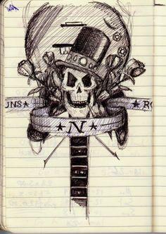 Sam Eggleton's art : Guns N' Roses tattoo #gunsnroses #tattoo #gnr