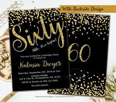 Free Printable 60th Birthday Invitations Drew S 60th 60th