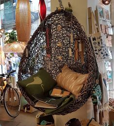 Swing Seat, Hanging Chair, New Homes, Furniture, Home Decor, Hammock Chair, New Home Essentials, Interior Design, Home Interior Design
