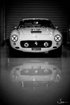 Is this in your garage? Ferrari 250 SWB - 1962   Protect it with #Chamberlain #Garage Door Opener http://www.chamberlain.com