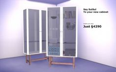 Simmer-Soul: IKEA Stockholm cabinet • Sims 4 Downloads