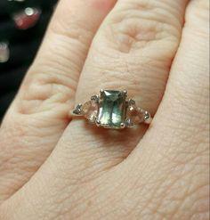 Just in: Oregon Sunstone Ring | Three Stone Ring | Sterling Silver Ring Sz 8.5 | Green Gemstone Ring | Pink Gems... https://www.etsy.com/listing/497336815/oregon-sunstone-ring-three-stone-ring?utm_campaign=crowdfire&utm_content=crowdfire&utm_medium=social&utm_source=pinterest