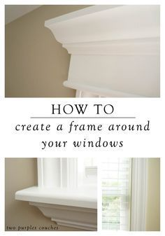 For A Custom Look, Learn How To Trim Out A Window With This Step By Step  Home Tutorial. Itu0027s A Great Project Thatu0027s Easy To Do Over A Weekend.