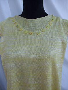 maglia bimba cotone viscosa fiorellini, by maglieria magica, 28,00 € su misshobby.com