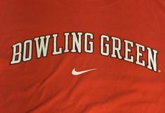 Bowling Green State Falcons Nike Orange Large Short Sleeve Tee T-Shirt #Nike #BowlingGreenStFalcons