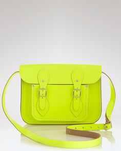 The Cambridge Satchel Company Satchel in electric yellow...want it/need it!