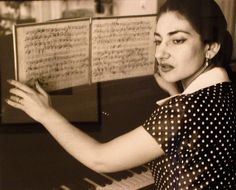 Maria Callas. Callas was first and foremost a serious musical intelligence. She could take any old operatic dross and bring it crackling to life. The components of her personality meant she sadly never knew peace and fulfillment; the burden of true genius.