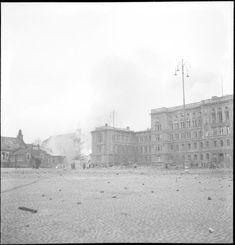 Helsingissä Teknillinen Korkeakoulu. (1939-12-01 SA-kuva)
