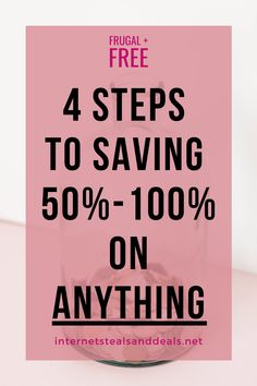 4 Steps To Saving 50%-100% On ANYTHING | The Freebie Lady | Learn how to never pay full price again with these frugal saving tips. Learn how to save money on clothes, save money on groceries, and never pay full price again! Money Saving Challenge, Money Saving Tips, You Used Me, Told You So, Search For Someone, Discount Gift Cards, Free Samples By Mail, Save Money On Groceries