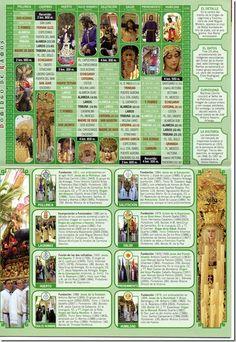 Itinerario Semana Santa 2012