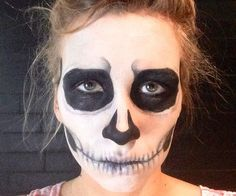 How to Do Skeleton Makeup for Halloween #diy #costumes