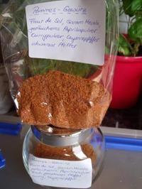 Pommes-Gewürzmischung - Rezept